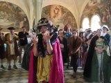Impromptu à l'Abbaye Royale de Fontevraud, lors de la balade