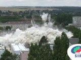 Implosion de la Tour Bleue - 29 juillet 2010, 11h