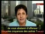 WAFA SULTAN : L'ISLAM, ELLE SAIT DE QUOI ELLE PARLE !