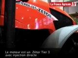 Agritechnica 2009 - Zetor Maxterra : un tracteur six cylindr