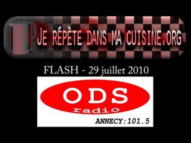 FLASH ODS RADIO 29 juillet 2010 - Fédération Cies Pros spect