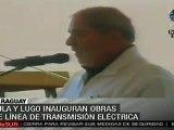 Lula y Lugo darán inicio a construcción de línea de trans