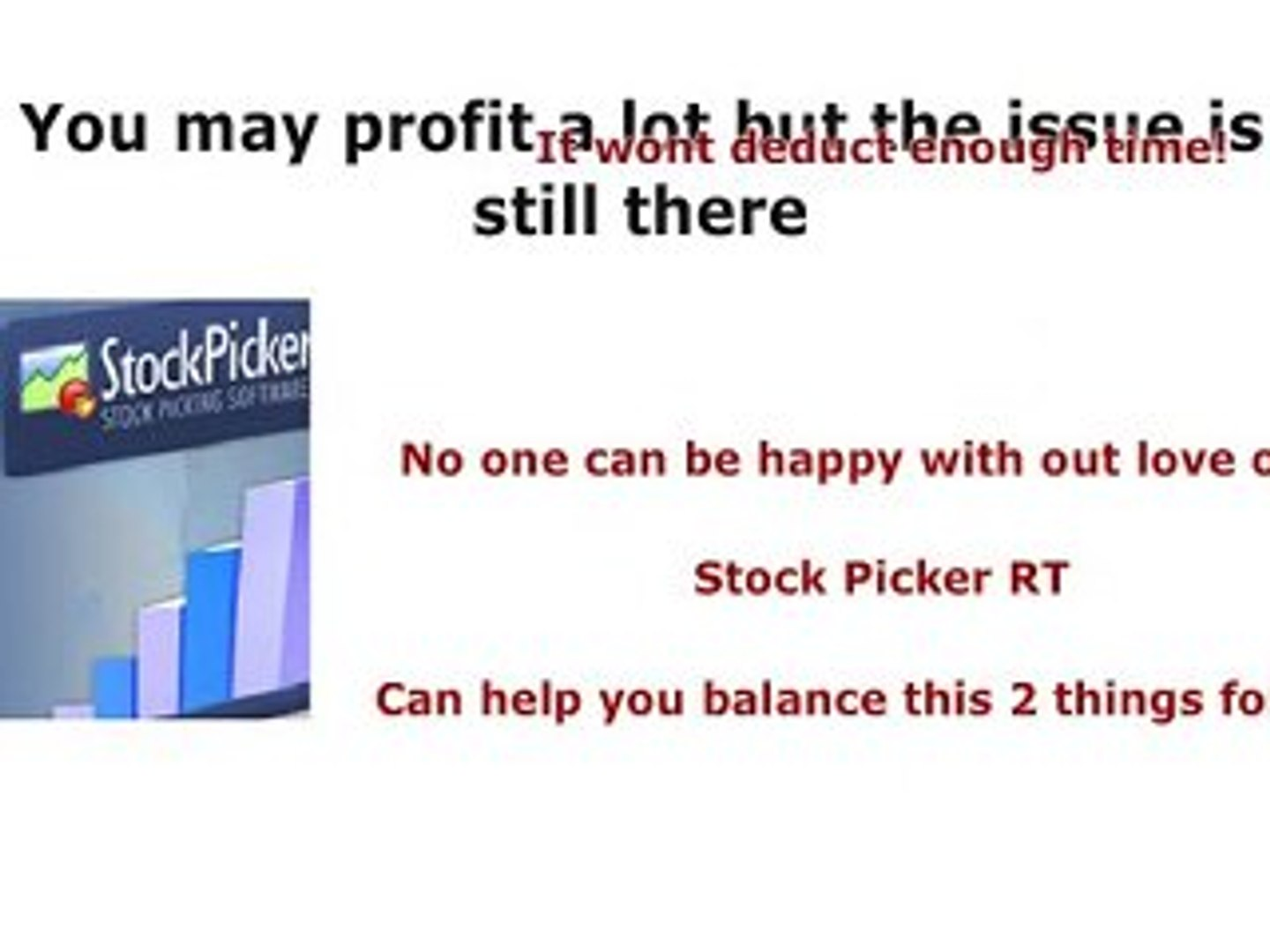Stock Picker RT Is Your Life Saver In The Stock Trading Indu