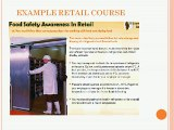 Food Safety Training Courses