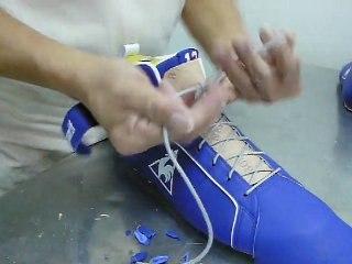 "Making of the Joakim Noah Pro Model ""frenchie"" shoes (2/2)"