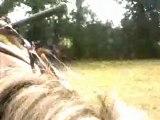 31/07/2010 Balade à cheval en forêt - Caméra embarquée