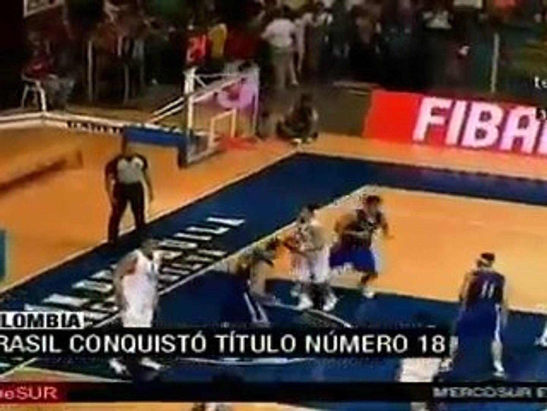 Brasil vence a Argentina y conquista el Sudamericano de balo