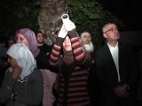 Blockaded Gazans look to the stars