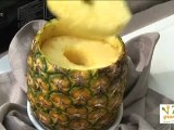 Découpe d'un ananas - 750 Grammes