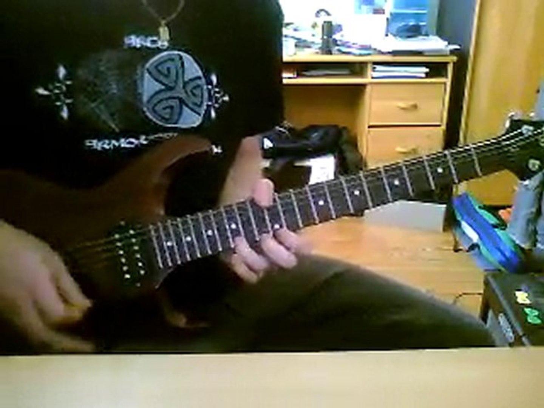 Brave New World solo cover - Iron Maiden cover