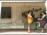 Exposition Michto festival peintures l'holocauste tsigane