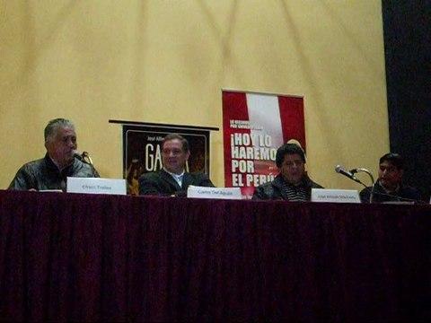 """Presentación del Libro """"Garra"""" de José Alfredo Madueño"""