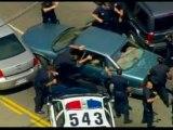 poursuite  de police usa