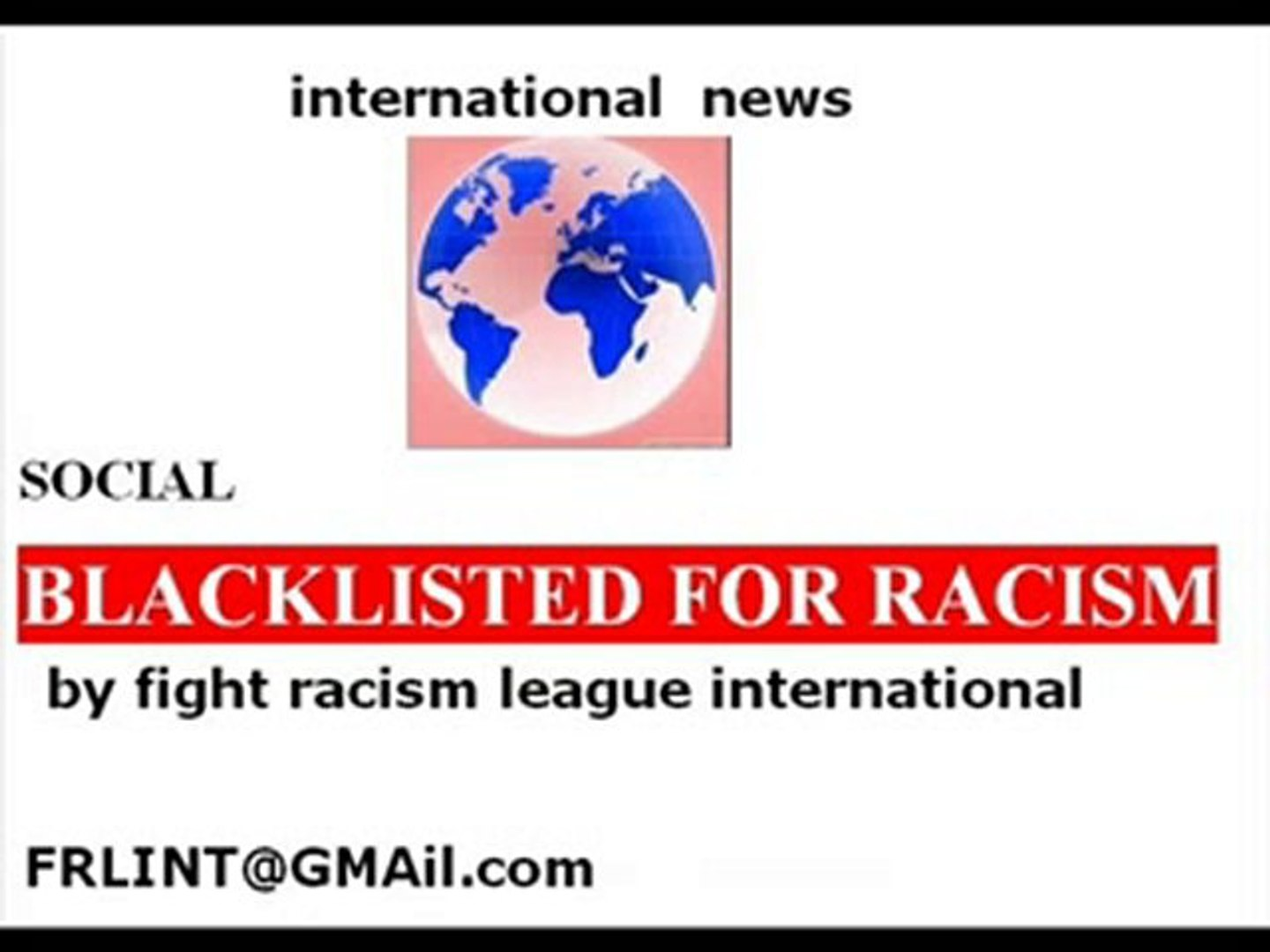 NEWS Moulin de Broukay blacklisted for RACISM