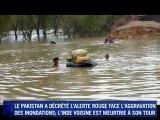 Inondations : 12 millions de sinistrés au Pakistan