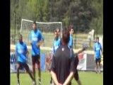 Inter Milan tactique coups francs et spé gardien