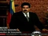 Nicolás Maduro: estamos de acuerdo en elevar nuestro diálo