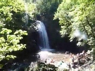Cascades de Murel, la grande cascade de la Prade P1020254