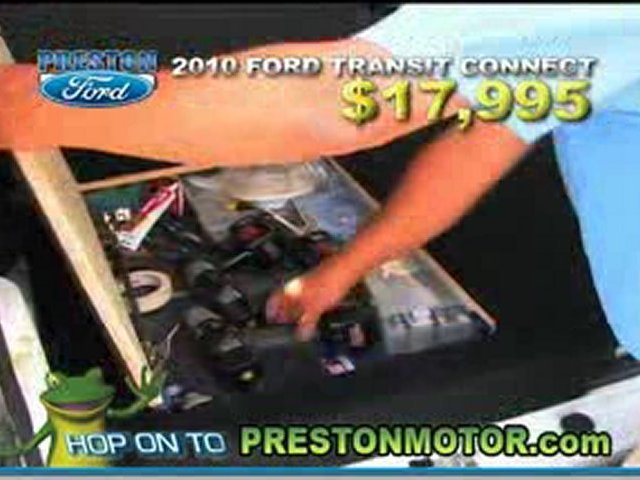2010 Ford Transit Connect testimonial-Preston Ford …