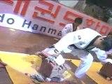 taekwondo compétition casse tuilles seniors
