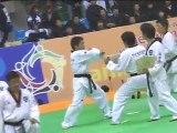 taekwondo compétition casse planches technique seniors