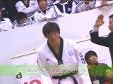 taekwondo compétition seniors casse planche tuio tchagui