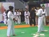 taekwondo compétition juniors femmes casse planche 360