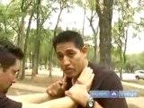 Chokes   Bear Hug Techniques for Krav Maga