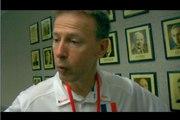 Vincent Collet à propos du match Canada-France
