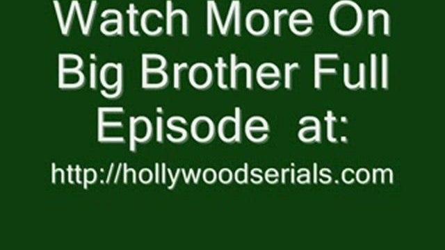 Big Brother US – POV Season 12 Episode 15 Full Episode