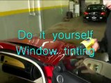 Free Car window tinting video showing you how to Tint cars