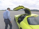 David Coulthard Test drives Mercedes-Benz SLS AMG E-CELL