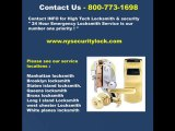 NYC Locksmiths, Emergency Locksmith NYC -800-773-1698