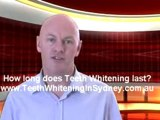 Teeth Whitening Sydney . How long doe teeth whitening last?