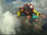 Chute libre Parachutisme Saut Tandem de Manon...