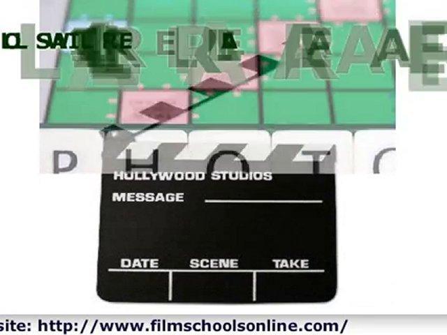 Film Schools Online-Film Programs-Online Film School