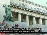 EE.UU. estudia flexibilizar restricciones de viajes a Cuba (