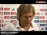 Benfica 1-2 Académica | Liga Sagres 2010-2011 | Reacções