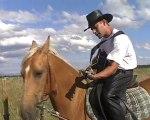 Un délire,mélange de cheval,de guitare de chansons et..