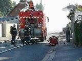 breteuil sur noye : fuite de gaz rue Curie