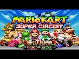 Test Mario Kart Super Circuit (GBA)