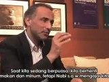 "Ramadan Tariq sharing about ""The Essence of Ramadan"" 2/3"