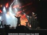 Les GAMUSHARA OENDAN sur scène (Japan Expo 2010)
