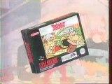 Publicité Astérix Super Nintendo 1993