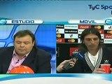 Carlos Arano en Estudio Futbol