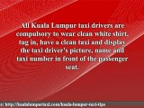Taxi Tips Kuala Lumpur :Your Useful Taxi Tips for All your T