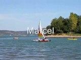 2 ème rencontre de kayaks & canoës à voile au lac du Salagou