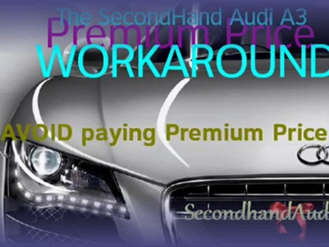 Used Audi A3 – Secondhand Audi TV