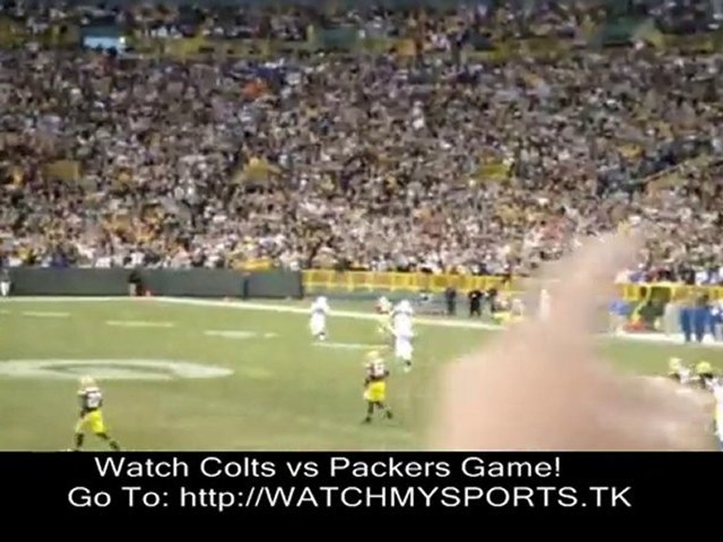 Watch Colts vs Packers Online Live - Stream 2010 NFL Games