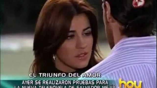 Salvador Mejia confirma a Maite en El Triunfo del Amor